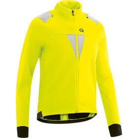 Gonso Asson Afrits Softshell Jas Heren, safety yellow